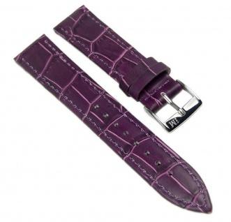 Morellato Bolle Uhrenarmband Kalbsleder Band Violett 12mm 20149S