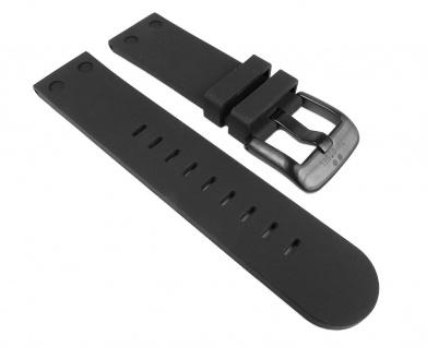 TW STEEL Ersatzband Silikon Band 22mm schwarz für Canteen / Pilot TW-582