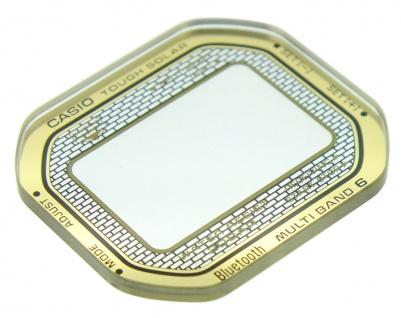 Casio Uhrenglas Mineralglas rund Ersatzglas mit Aufdruck GMW-B5000TFG