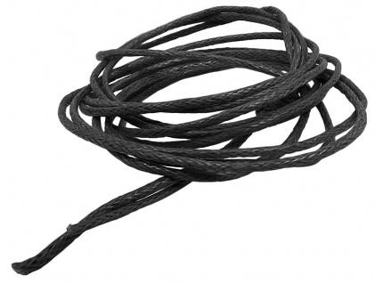 Minott Schnur Halskette schwarzes Band aus Baumwolle Ø 0, 9mm > L 100cm 39465