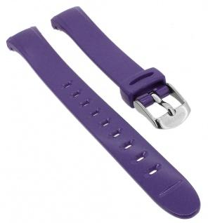 Calypso Uhrenarmband lila Band aus Kunststoff mit Dornschließe K5749/4