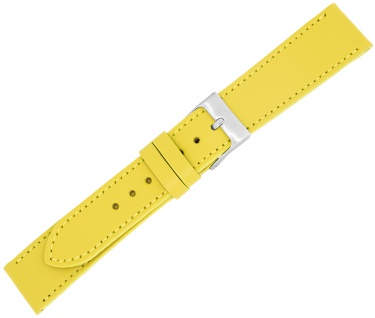 Minott Ersatzband Kalbsleder Made in Europa Ton in Ton Naht Verlauf gelb