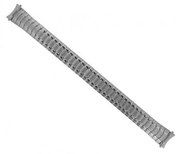 Timex Uhrenarmband | Zugflexiband | Edelstahl silberfarben 14mm für TW2P78500