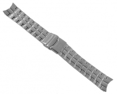 Casio Armband Uhrenarmband Edelstahl Band Silberfarben für Edifice EFR-501D