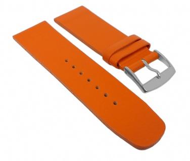 Graf Manufaktur Spree Damen Uhrenarmband Leder Band Orange 27096S