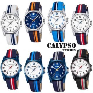 Calypso Kinderarmbanduhr Quarzuhr analog Kunststoff K5707