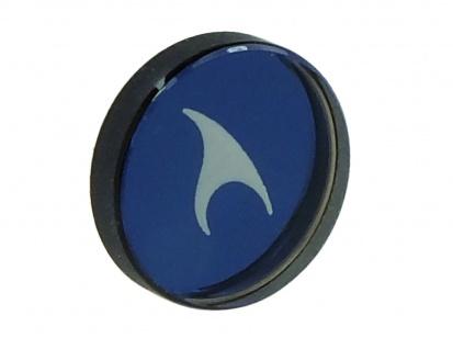 Casio Oceanus Ersatzglas für die Krone rund blau OCW-T1000B OCW-T1000 OCW-T1000E