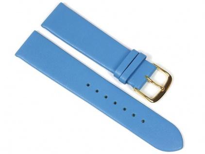 Berlin Uhrenarmband Kalbsleder Band Blau 23241G