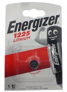 1 x Energizer CR1225 Batterie Knopfzelle Lithium 3 Volts für Armbanduhren