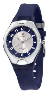 Calypso Watches   analoge Damenarmbanduhr Quarz Kunststoff dunkelblau mit Leuchtzeigern K5162/4