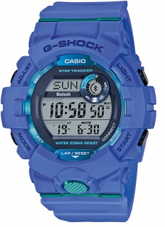 Casio G-Shock SQUAD Digitale Bluetooth® Smart Herrenuhr GBD-800-2ER mit Step Tracker