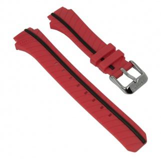Lotus Watches Marc Marquez Ersatzband Kunststoff rot/schwarz L18106/A 18106 für Damenuhren