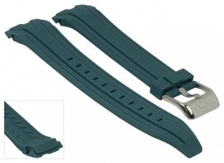 Ersatzband Uhrenarmband Kautschuk Band blau passend zu Festina F16670/4 F16670/alle F16505