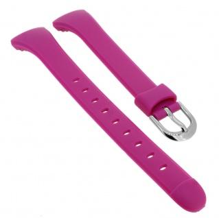 Calypso Uhrenarmband pink Band aus Kunststoff mit Dornschließe K5752/5