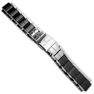Festina Uhrenarmband Edelstahl Band 12mm Silberfarben für alle F16531