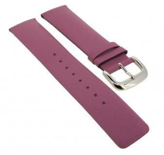 Bruno Banani Uhrenarmband 21mm aus Leder in pink Band CD2194
