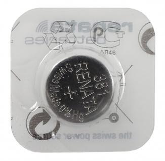 Renata 381 Batterie SR1120S Knopfzelle Swiss Made 1, 55 V Silberoxyd