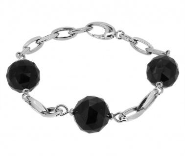 Morellato Black & White hochwertiges Armband mit schwarzem Achat SCU11