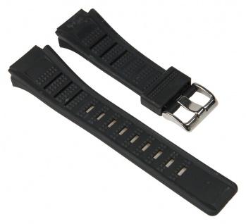 Calypso Uhrenarmband Kunststoff Band Schwarz passend zu K5516