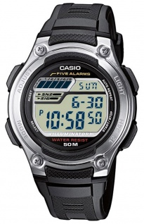 Casio Collection Herrenuhr Digitaluhr Alarm W-212H-1AVES