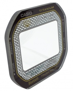 Casio G-Shock Uhrenglas Glas Ersatzglas GMW-B5000TB-1 10600174