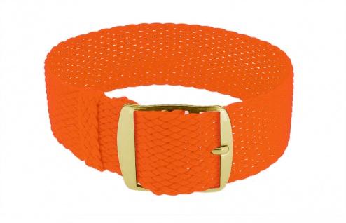 Minott Durchzugsband Ersatzband neon orange Band geflochten Perlonband 35844