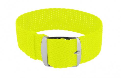 Minott Durchzugsband Ersatzband neon gelb Band geflochten Perlonband 35853