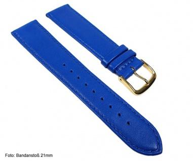 Miami Uhrenarmband Kalbnappa Band Blau / Enzian 22575G - Vorschau 2