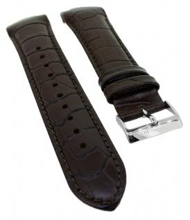 Hugo Boss Trophy Ersatzband 22mm braun Leder Band 1513629 1513628