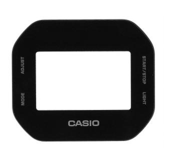 Casio Uhrenglas rund flach Aufdruck DW-5600BB-1ER