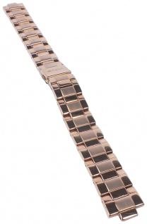 Casio Armband | Uhrenarmband Edelstahl Band Roségoldfarben für Sheen SGN-6007G