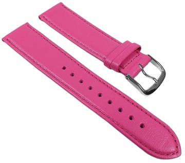 Graf Miami Uhrenarmband Kalbnappa Pink 22593S Made in Germany