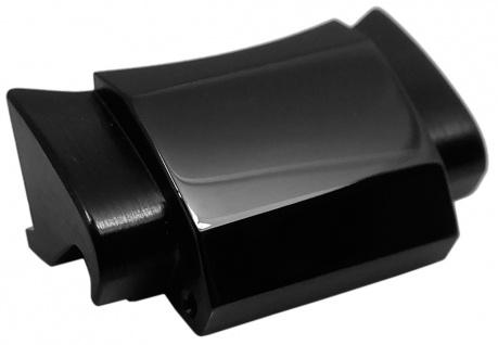 Casio Edifice Anstoßglied für Armband Edelstahl schwarz EQB-500DC