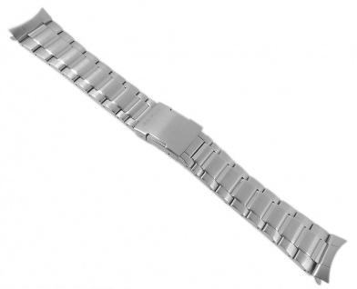 Casio Armband Uhrenarmband Edelstahl Band Silberfarben für Edifice EQW-A1110DB EQW-A1110RB