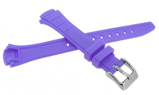 Calypso Ersatzband aus Kunststoff in lila mit Schließe silberfarben Spezial Anstoß K5756/7 - Vorschau 2