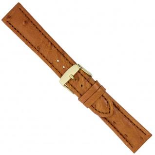 Uhrenarmband Ersatzband Leder Band Braun 26571G