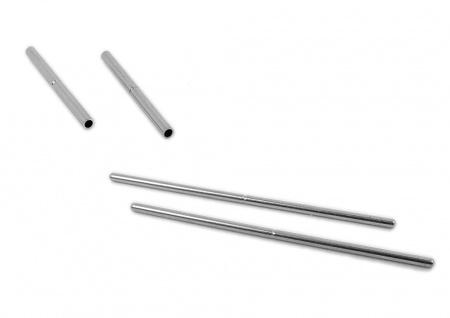 Stift + Hülse für Bandglieder Edelstahl silbern F16527