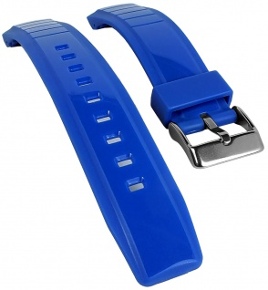Timex Marathon | Uhrenarmband Kunststoff Band blau für TW5K85000