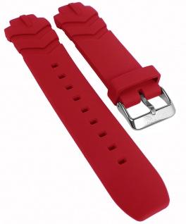 Calypso Ersatzband rot Kunststoff Band Dornschließe K5766/2 K5766