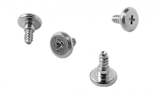 Casio Uhren Ersatzteile Ersatzschrauben Bandschrauben Ø1, 7mm 4, 4mm lang für G-7800