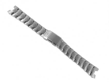 Casio Uhrenarmband Titan Band Silberfarben für Oceanus OCW-T1000 OCW-T1000E