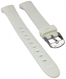 Calypso Watches Ersatzband Kunststoff Band weiß schimmernd für Modell K5677/1