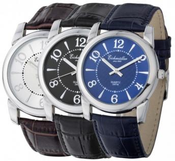 Klassische Herren Armbanduhr Analoguhr ca. Ø 40mm RE-24389
