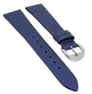 Festina Damen Uhrenarmband Ersatzband aus Leder in blau F16648/7
