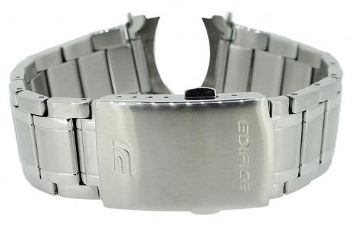 Casio Armband Edifice Ersatzband 22mm Edelstahl silberfarben EFS-S510D-2AVUEF
