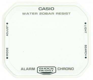 Casio Ersatzglas Uhrglas Mineralglas weiß für DW-D5600