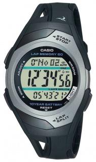 Casio Sportuhr PHYS Star Sprinter digitale Laufuhr Stoppuhr 5Tagesalarme STR-300C-1VER