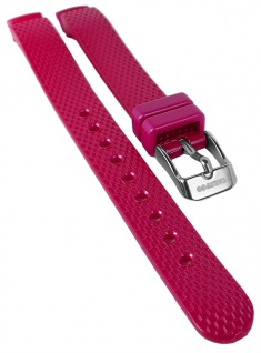 Calypso Uhrenarmband pink Kunststoff Band Dornschließe K5736 K5736/5