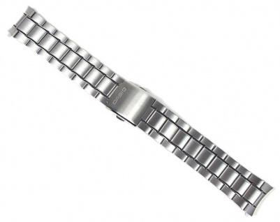 Casio Uhrenarmband Edelstahl Band für MTP-1340 MTP-1340D