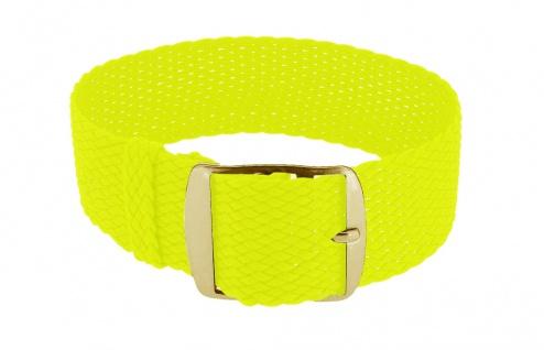Minott Durchzugsband Ersatzband neon gelb Band geflochten Perlonband 35851